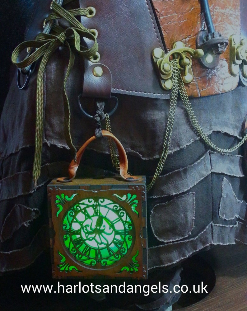 Steampunk Lamp  Alternative Gift Larp Cosplay Octopus image 0