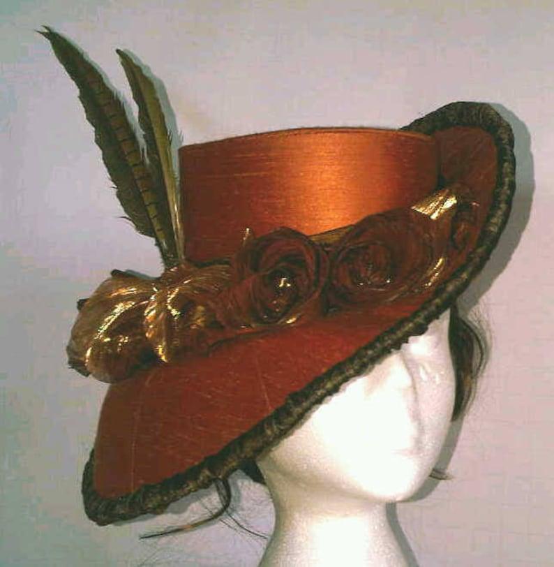 Hat Pattern Sewing Pattern Victorian Tutorial Digital image 0