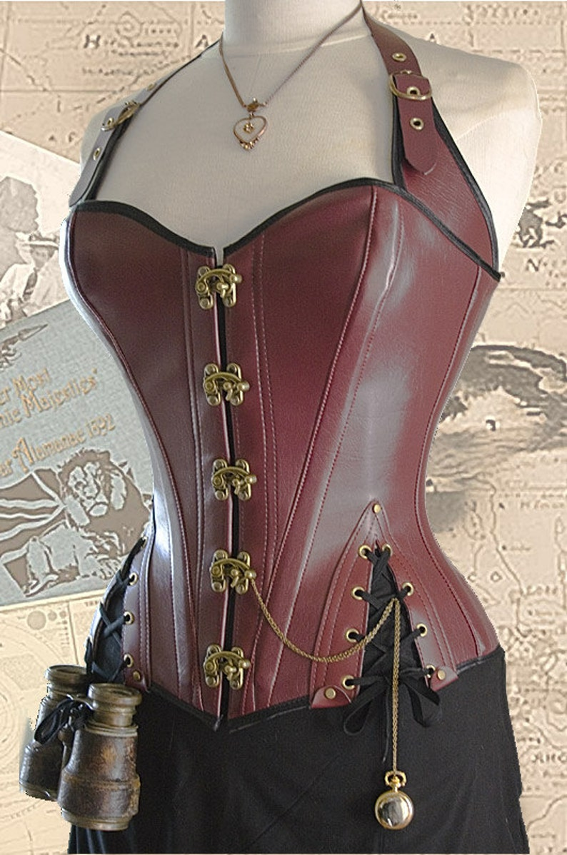 Corset Sewing Pattern For Pirates and Steampunks With  Free image 0