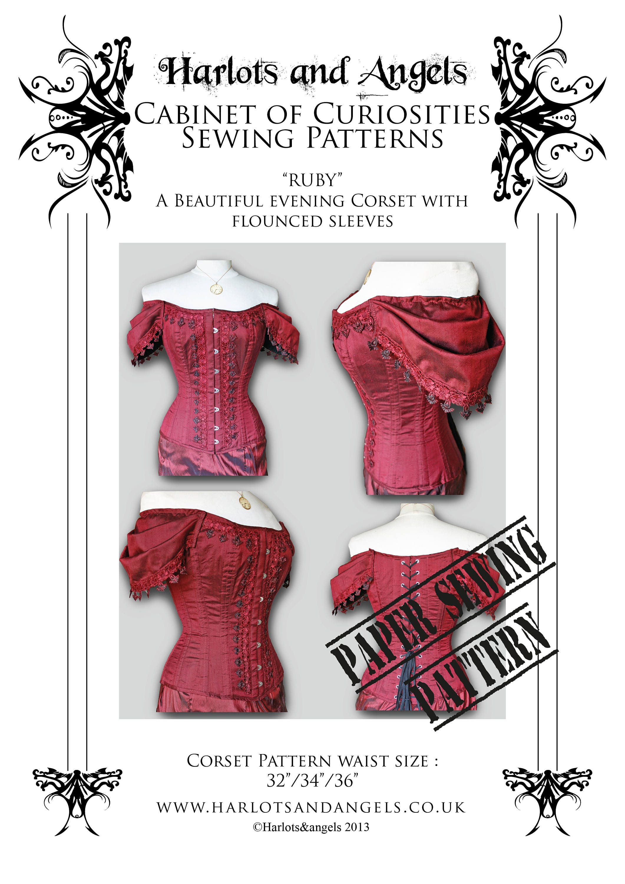 Corset Sewing Pattern Interesting Design Ideas
