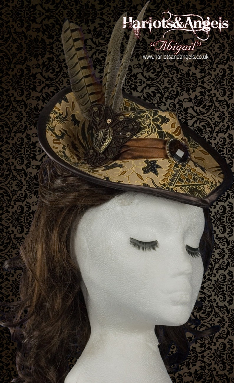 Hat Pattern Victorian Steampunk Hat Cosplay Costuming  With image 0