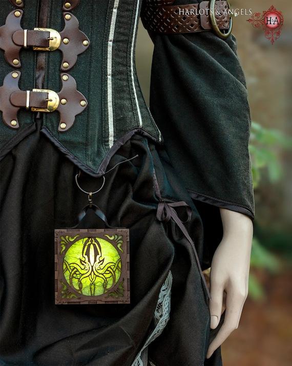 Bretelle per Adulti Unisex Steampunk Vittoriano Accessorio Costume