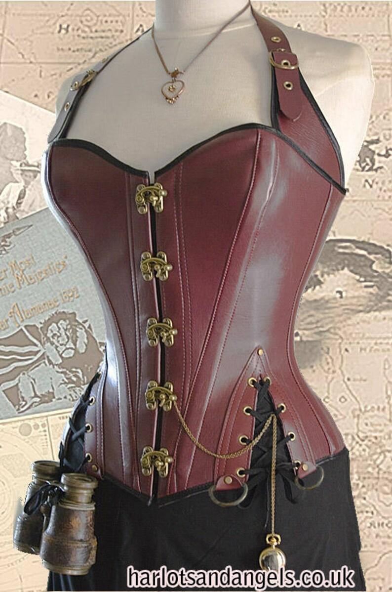 Corset Sewing Pattern Steampunk Pirate Style Size MEDIUM image 0