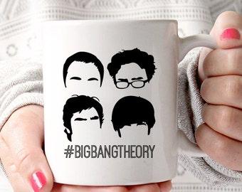 Sheldon, Leonard, Howard, Raj Big Bang Theory Coffee Mug