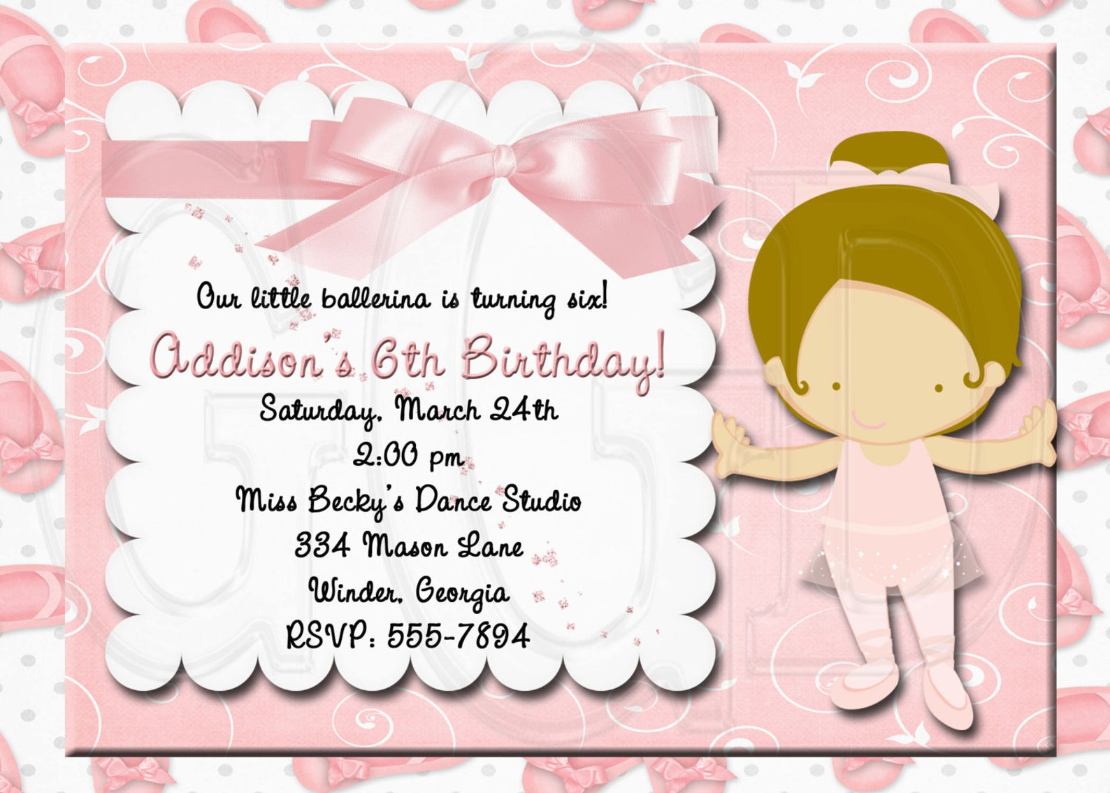 ballet birthday party, ballet invite, ballerina birthday party, ballerina invitation birthday, ballet theme party, ballet party-
