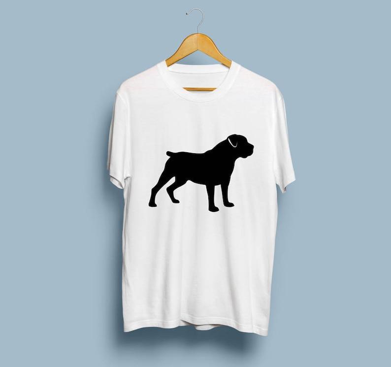 Boerboel - Digital Download, Boerboel Art, Dog Silhouette, Boerboel SVG, DXF