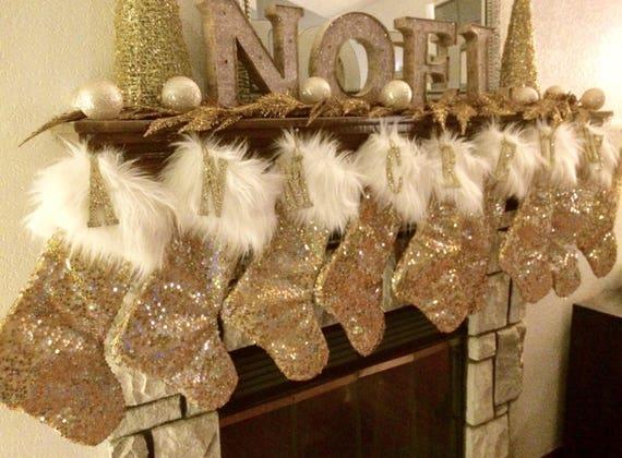 image 0 - Gold Christmas Stocking