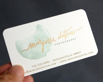 200 business cards metallic foil stamped 14 pt matte stock etsy 200 business cards metallic foil stamped 16 pt heavy silky matte custom printed colourmoves