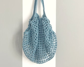 Market Bag, Reusable Bag, Eco-friendly Bag, Net Bag, Grocery Tote, Beach Bag, Grocery Bag, Blumargot, Cotton Bag, Shopping  Bag, Market Tote
