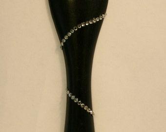 "Swarovski Crystal Violin Tailpiece - ""The Erika"""