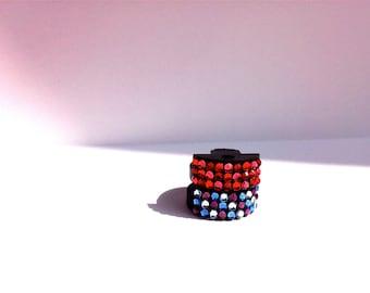 Viola Swarovski Crystal Color Collection Mutes