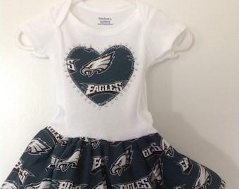 28c6814f Philadelphia eagles baby | Etsy