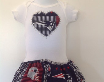 New England Patriots Inspired Baby Coming-Home Outfit  e3d6c259d