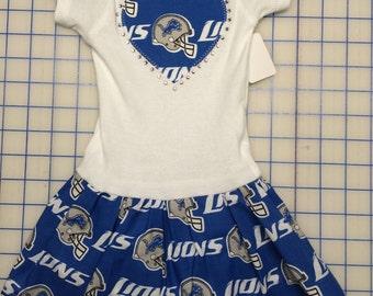 bc7d3341 Detroit lions baby | Etsy