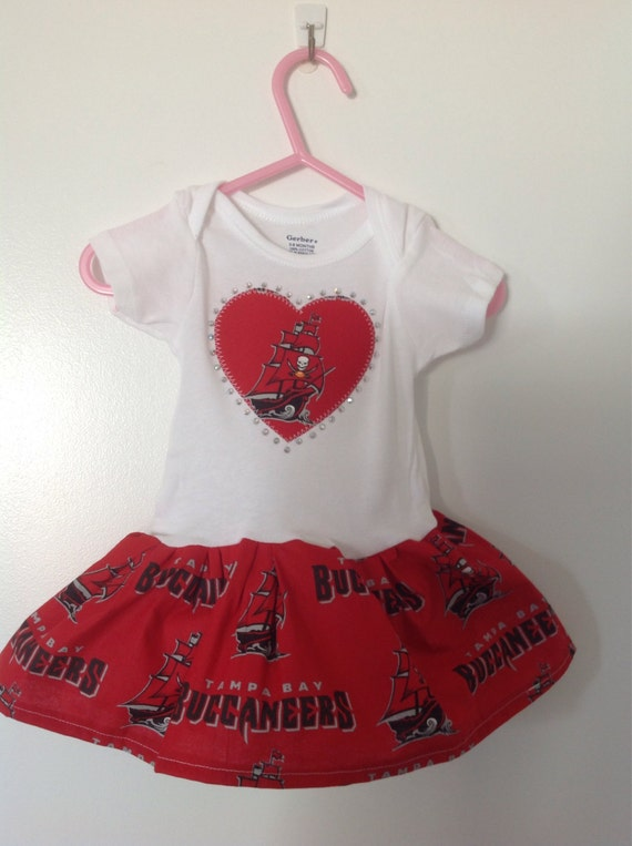 aa89f0d7a Tampa Bay Buccaneers Inspired Infant Dress