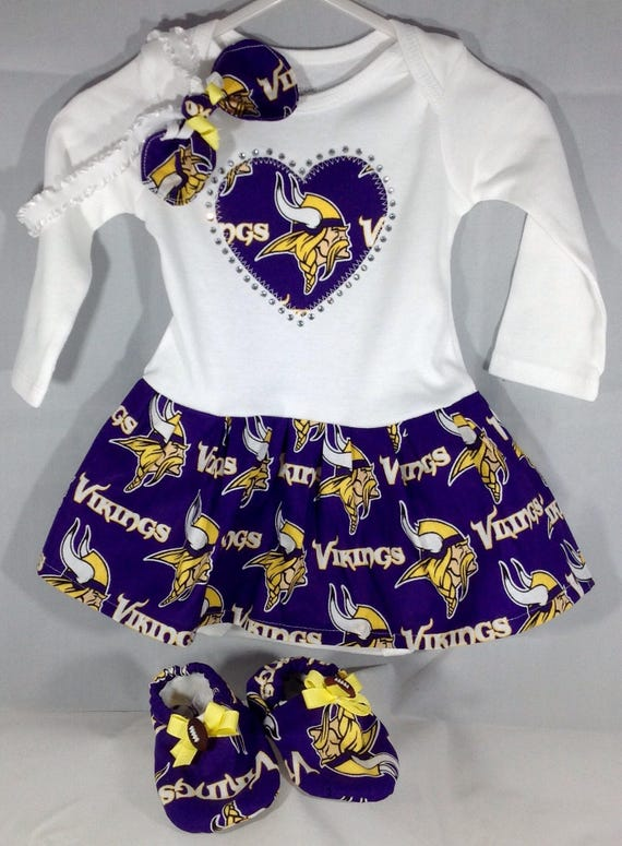 Minnesota Vikings Inspired Baby Coming Home Outfit