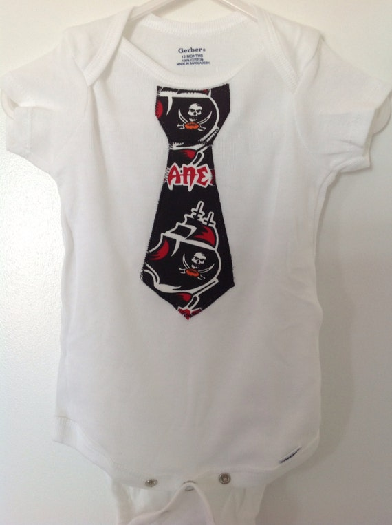 56a5fd5cb Tampa Bay BUCS Inspired Boys Outfit With Tie