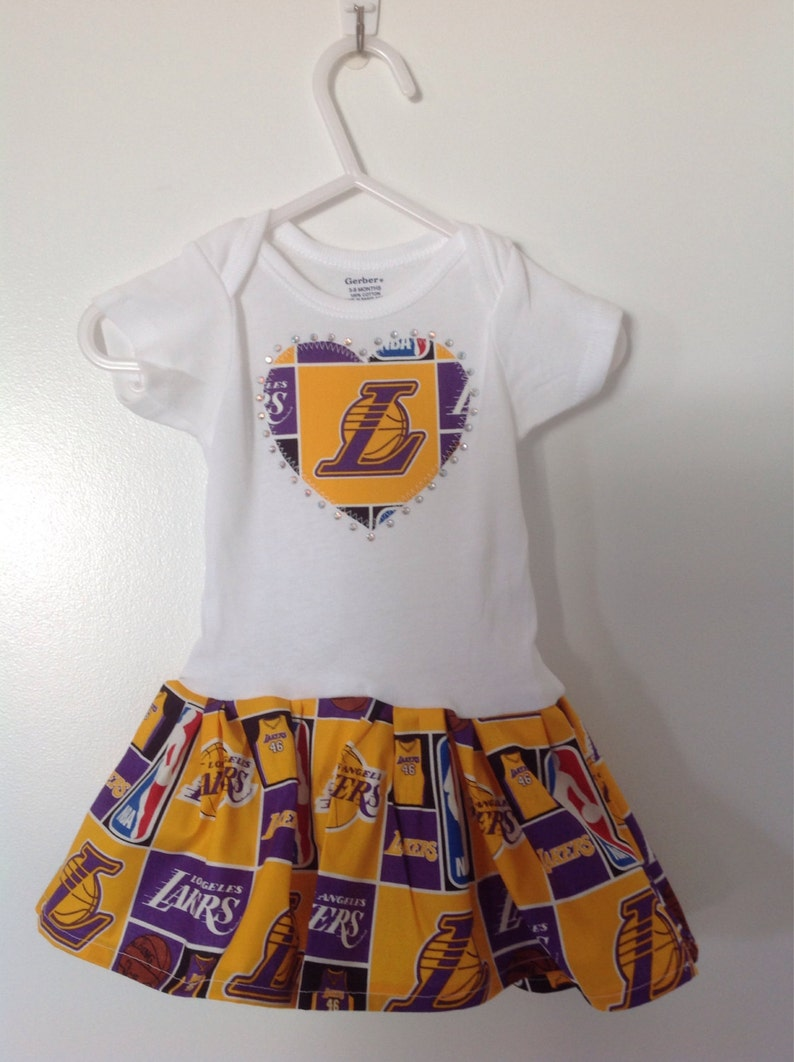 LA Lakers Inspired Infant Dress