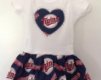 Minnesota Twins Inspired Dress