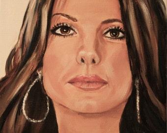 Sandra Bullock Celebrity Painting
