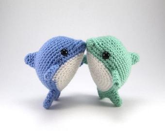 Pearl the Dolphin PDF Crochet Amigurumi Pattern