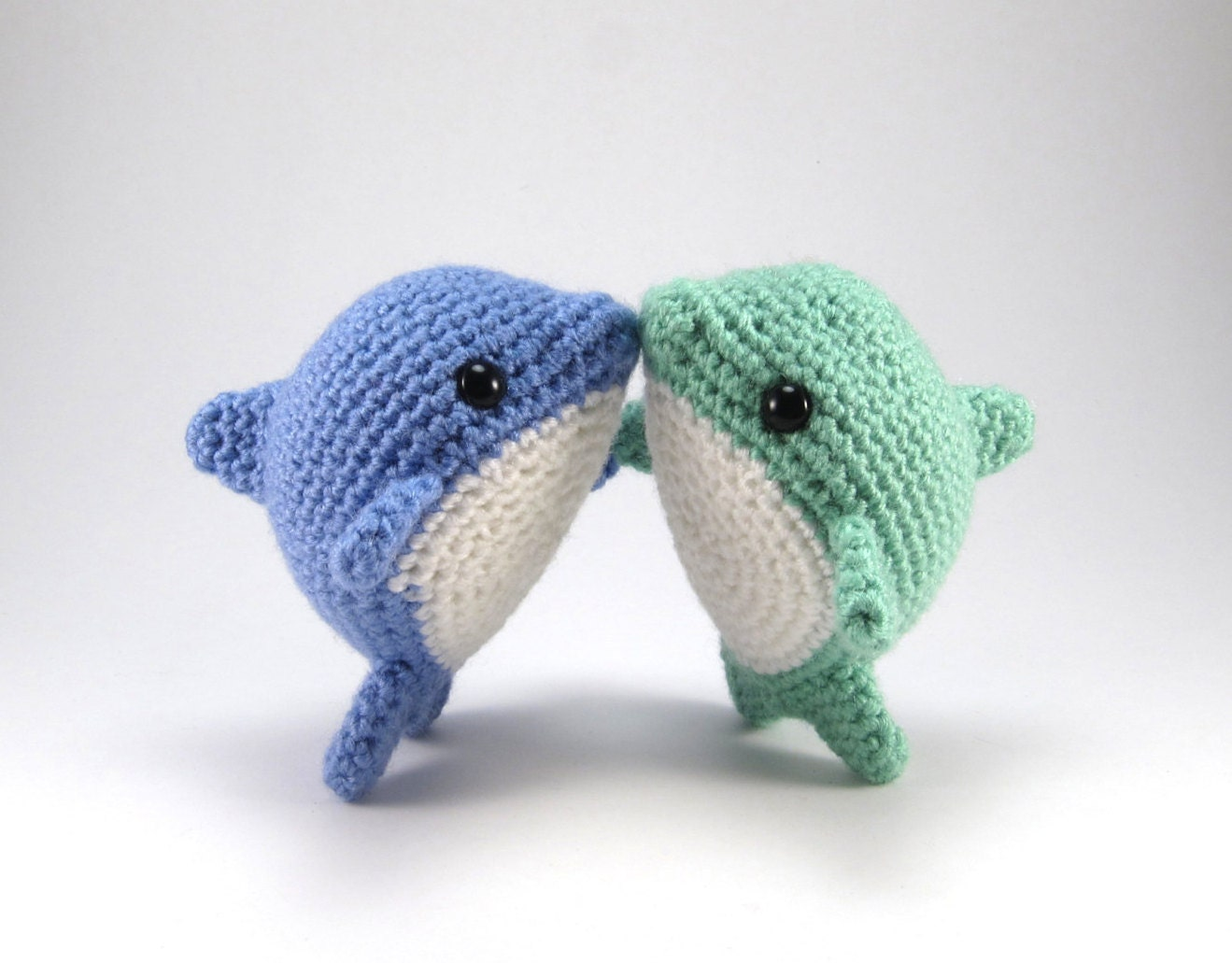 Pearl The Dolphin Pdf Crochet Amigurumi Pattern Etsy