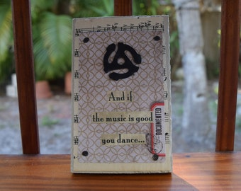 DANCE - Mixed Media w/ Heart - Small But Mighty Series 4 x 6