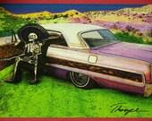 El Carro (Dia de los Muertos Card Line)