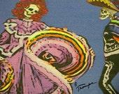 Baile 39 Dancers 39 (Dia de los Muertos Card Line)