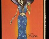 Calla Katrina (Dia de los Muertos Card Line)