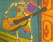 El Musico 39 The Musician 39 (Dia de los Muertos Card Line)