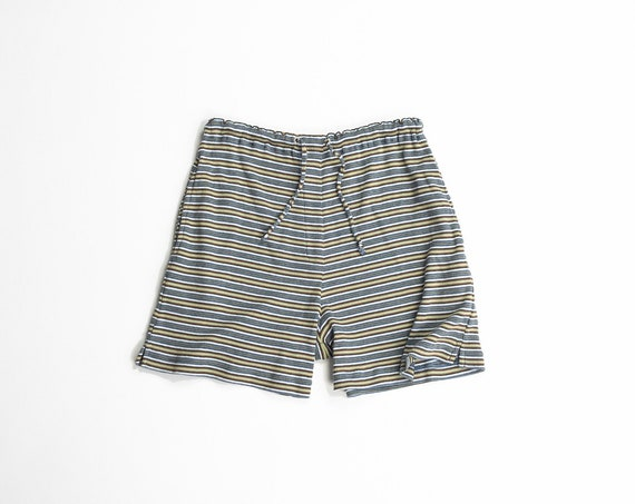 ribbed stripe shorts | vintage 90s boy shorts