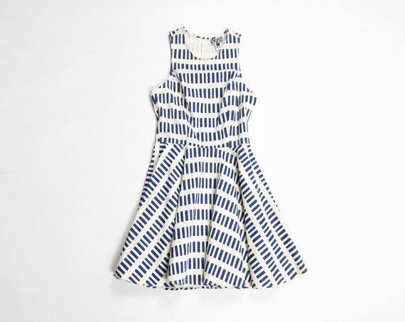 DUSEN DUSEN blue dash tennis dress