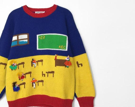 math teacher sweater   3D sweater