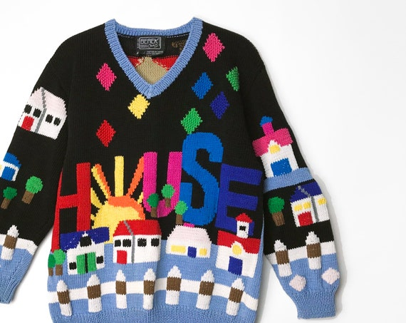 sold house sweater | house for sale