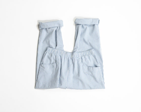baby blue striped pants   casual cotton pants