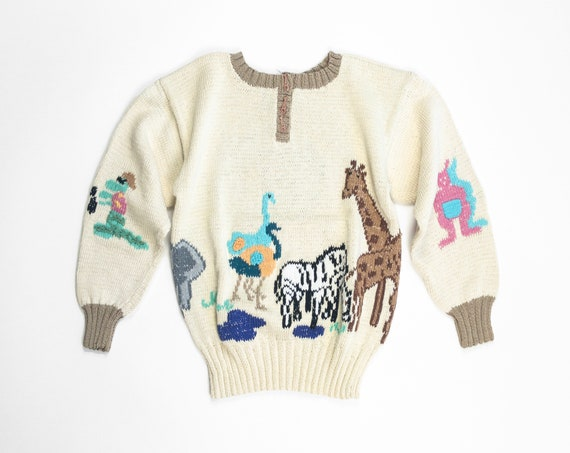 Noah's ark sweater | animals sweater