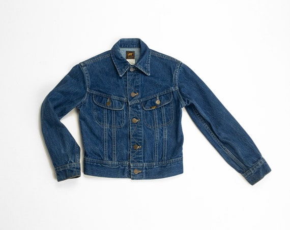 vintage LEE denim jacket | kid's jean jacket
