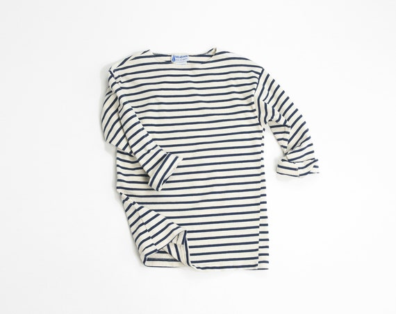 vintage French Marinière shirt | Breton stripe sailor top