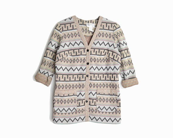 southwestern chore coat | neutral tone