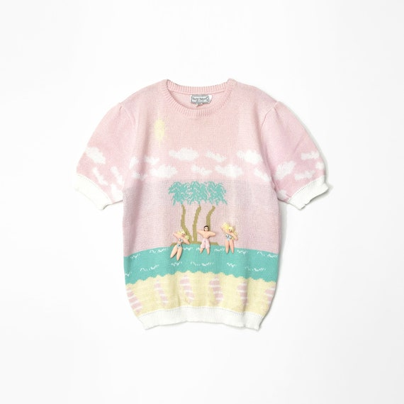 beach babes sweater | 3D sweater | novelty sweater