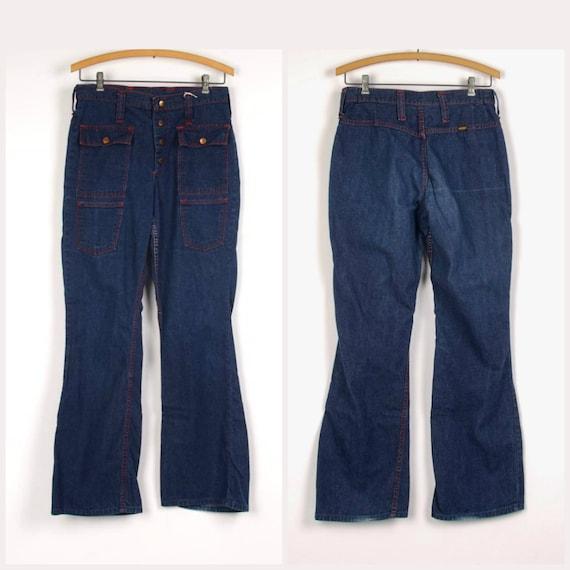 Maverick Wrangler Blue Bell jeans 29 waist contras