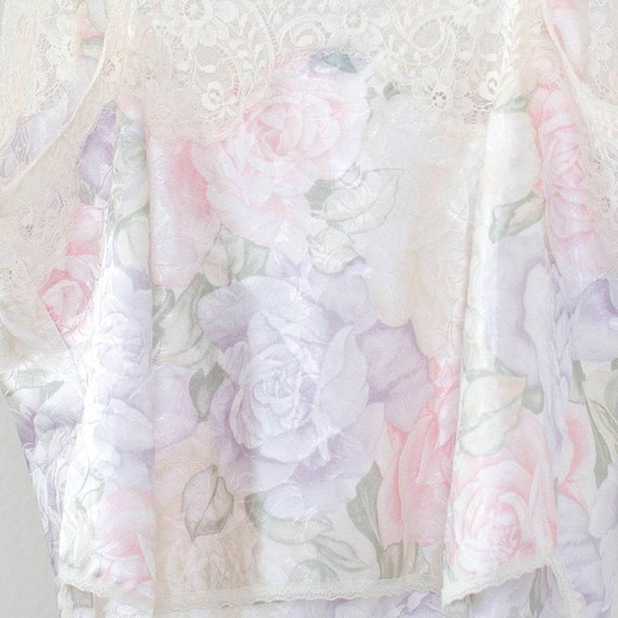 Christian Dior floral lace and satin camisole spa… - image 6