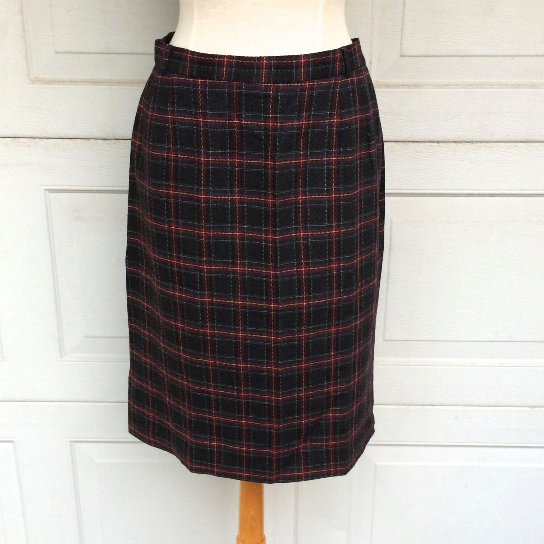 Skirts Liz Claiborne Womens Size 12 Black And White Check Skirt Women's Clothing