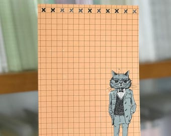 The Cat's Pajamas - A5 Stationery - 12, 24 or 48 sheets