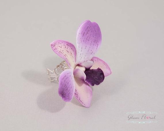 Flower Filigree Ring Wedding Bridal Flower Ring Flower Etsy