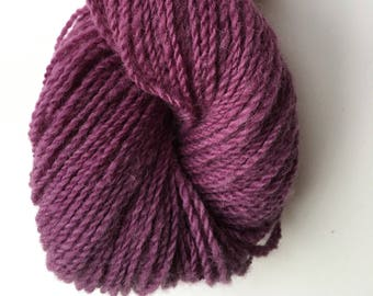 Purple Cochineal Alpaca Merino Yarn