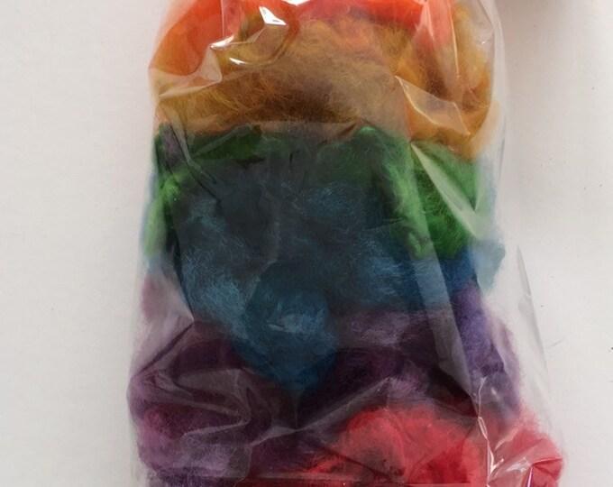 Rainbow Hand Dyed Locks