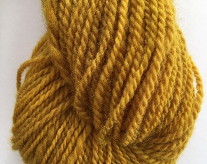 Bright Golden Alpaca Merino Yarn