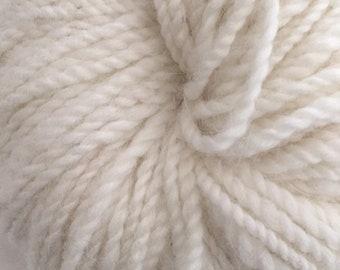 Snowy White Angora Merino Yarn
